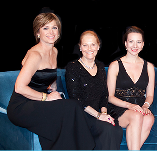 Dorothy Hamill, Carol Heiss Jenkins and Sarah Hughes were guests of honor at SCNY's 150th anniversary celebration.