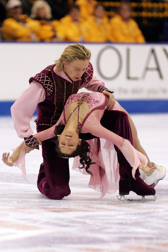 Melissa Gregory and Denis Petukhov won 4 silver medals at Nationals in dance and represented the United States at the 2006 Olympics.