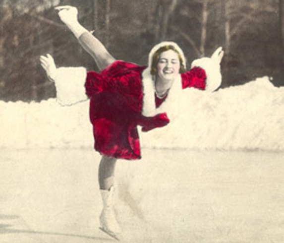 Majorie Parker Smith competed in ice dancing, pairs and singles, and was a member of the first official US Ice Dancing Championship team. Parker Smith won nationals in dance in 1936 with her partner, SCNY member Joseph Savage.