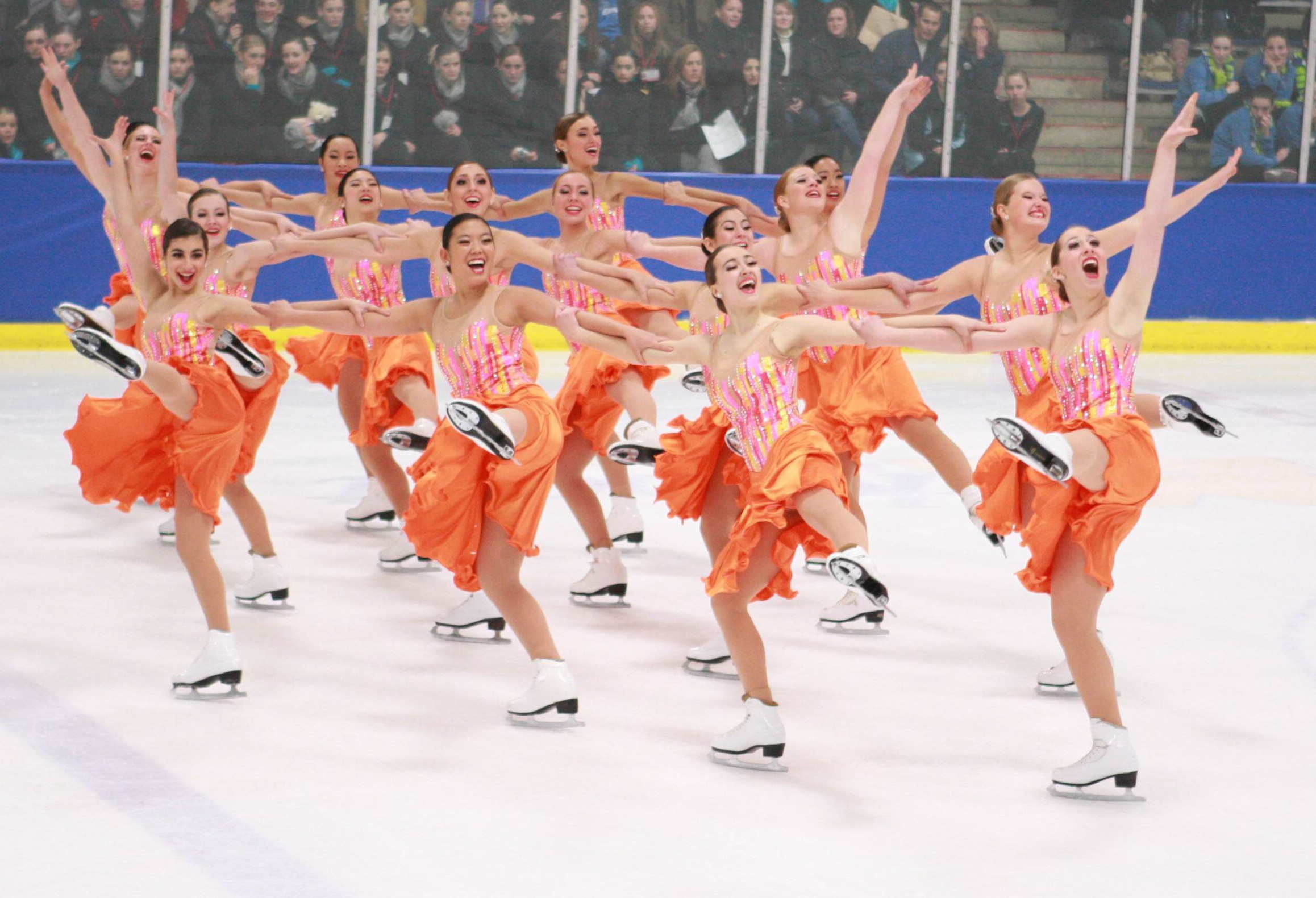 2011 US Junior synchronized skating champions, the Skyliners