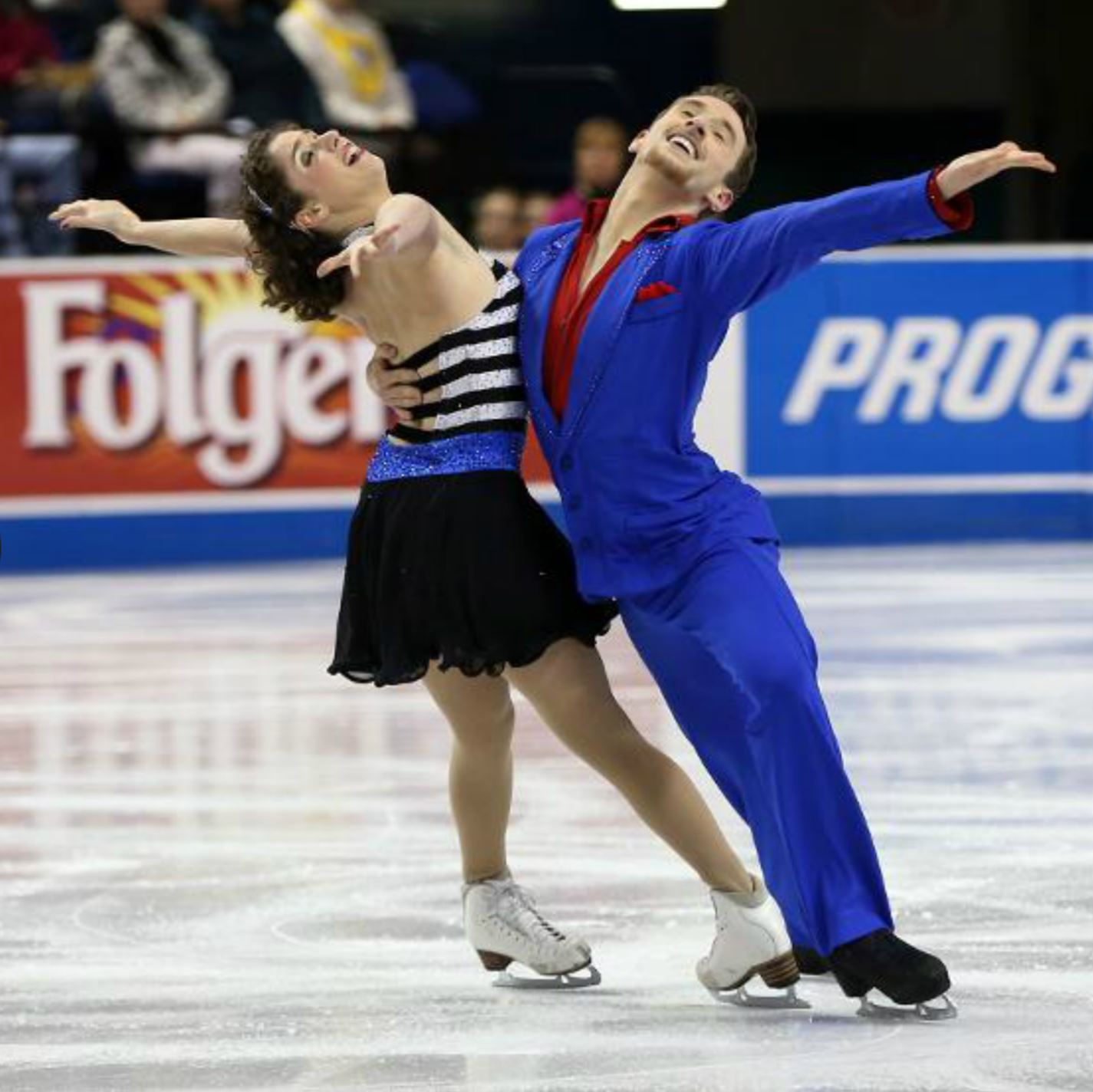 Danielle and Alexander Gamelin twins won the national intermediate title in ice dancing in 2009 and bronze in juvenile dance in 2008. They are 2015 Eastern Sectional senior dance champions.