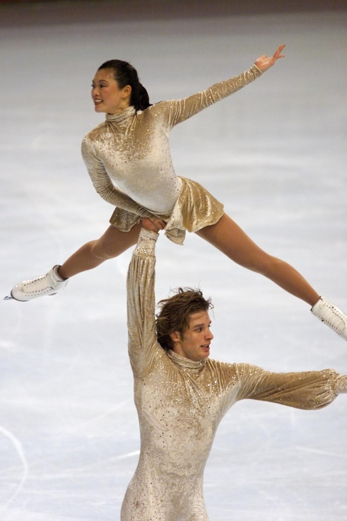 Kyoko Ina and John Zimmerman were 2002 World bronze medalists and 3-time US national champions. Ina skated previously with Jason Dungjen, winning US titles in 1997 and 1998.