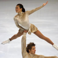 2002 World bronze medalist and 3-time US national champions, Kyoko Ina and John Zimmerman