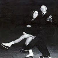 Marjorie Parker and Joseph Savage teamed to win the first official US national ice dancing championship in 1936