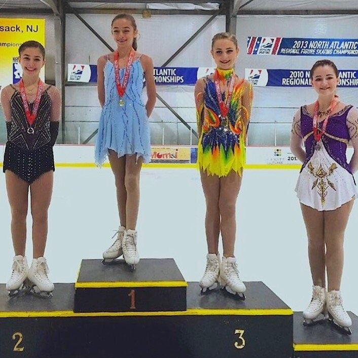 Ashley Leahy (1st, SCNY); Sophia Tsintsadze (2nd, SCNY); Amanda Smentkowski (3rd, SCNY); Devon Olsen (4th, SCNY)