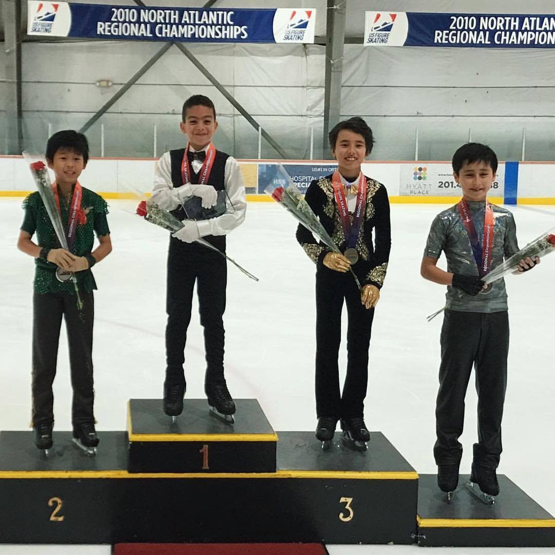 Jacob Sanchez (1st, Hudson Valley FSC); Keita Horiko (2nd, Ice House NJFSC); Louis Lorenz (3rd, SCNY); Lucase Fitterer (4th, Ice House NJFSC)