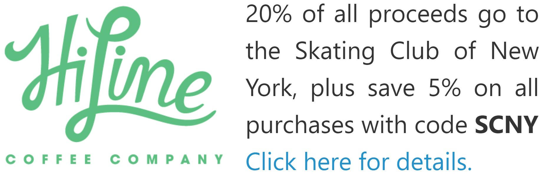 HiLine Coffee supports SCNY skaters!